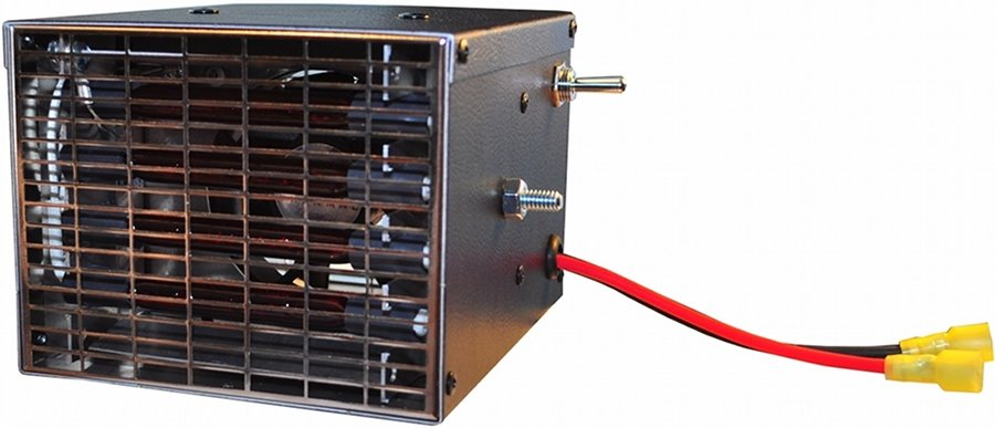 12 Volt 12,500 Btu//Hr. Heater